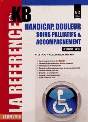 Handicap Douleur Soins palliatifs et accompagnement - vernazobres grego - 9782818313350 -