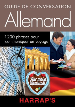 Harrap's guide conversation Allemand - Harrap's - 9782818703557