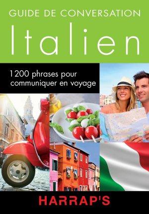 Harrap's guide conversation Italien - Harrap's - 9782818703564