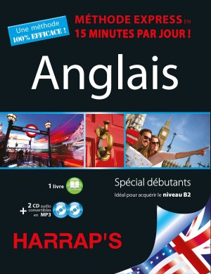 Harrap's méthode Express Anglais 2CD+livre - Harrap's - 9782818703878 -
