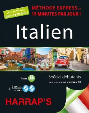 Harrap's Méthode Express Italien 2CD+livre - Harrap's - 9782818703892 -