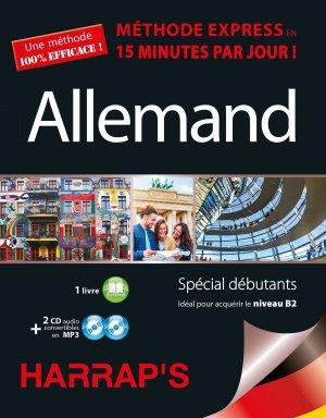 Harrap's Méthode Express Allemand 2CD+livre - Harrap's - 9782818703908 -