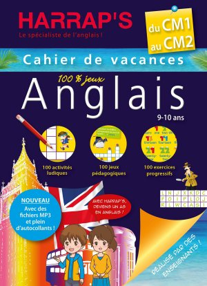 Cahier de vacances Anglais du CM1 au CM2 - Harrap's - 9782818704684 -