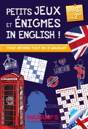 Harrap s Petits jeux et énigmes in english 3-2 - Harrap's - 9782818704745 -
