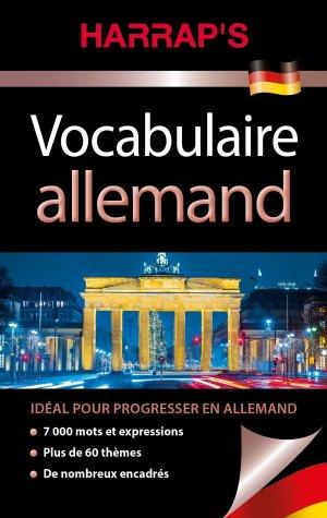 Harrap's vocabulaire Allemand - Harrap's - 9782818704813