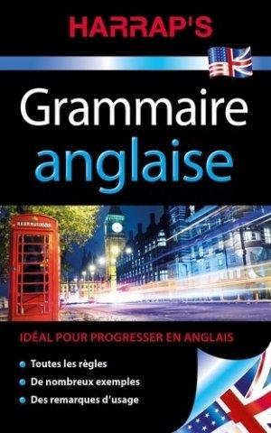 Harrap's grammaire anglaise - harrap's - 9782818705049 -
