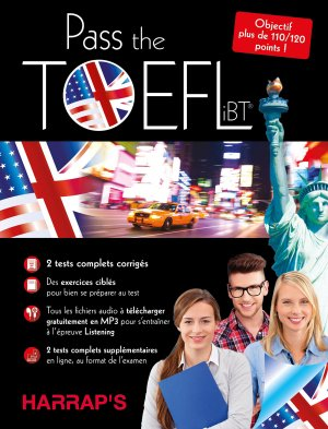 Harrap's Pass the Toefl - Harrap's - 9782818705148 -