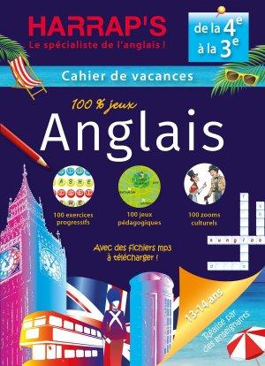 Harrap's cahier de vacances Anglais 4ème/3ème - Harrap's - 9782818707494 -
