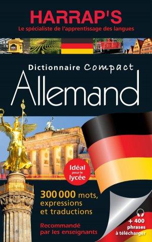 Harrap's dictionnaire compact allemand - Harrap's - 9782818706831 -