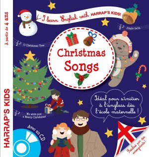 Harrap's I learn English with Christmas songs - Harrap's - 9782818706961 -