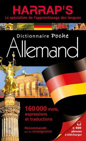 Harrap's Dictionnaire poche Allemand - Harrap's - 9782818707302 -