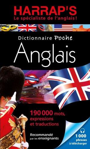 Harrap's Dictionnaire Poche Anglais - Harrap's - 9782818707524 -