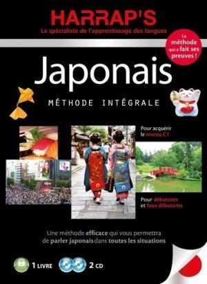 Harrap's méthode intégrale japonais - 2 CD+ livre - Harrap's - 9782818707555 -