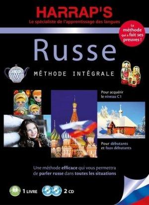 Harrap's méthode intégrale Russe - 2 CD + livre - Harrap's - 9782818707586 -