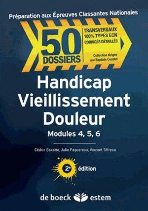 Handicap Vieillissement Douleur - estem - 9782843715853 -