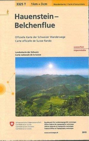 Hauenstein-belchenflueindechirable et resistante eau - Bundesamt Fur Landestopographi - 9783302333250 -