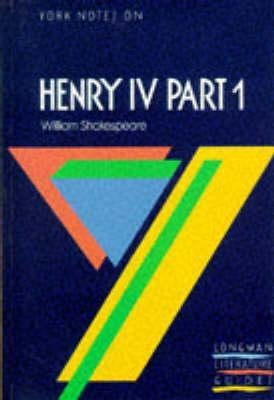 Henry Iv Part 1 - longman - 9780582022706 -