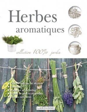 Herbes aromatiques - larousse - 9782035871848 - majbook ème édition, majbook 1ère édition, livre ecn major, livre ecn, fiche ecn