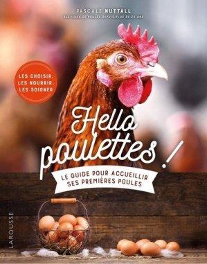 Hello poulettes ! - larousse - 9782036000803 -
