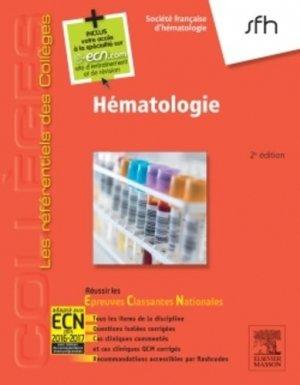 Hématologie-elsevier / masson-9782294739507