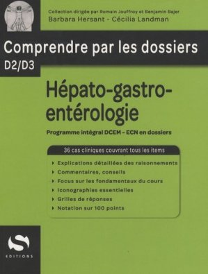 Hépato-gastro-entérologie - s editions - 9782356400628 -