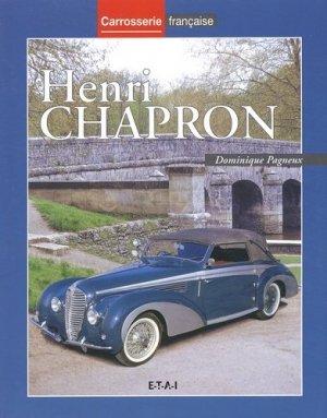 Henri Chapron - etai - editions techniques pour l'automobile et l'industrie - 9782726886021 -