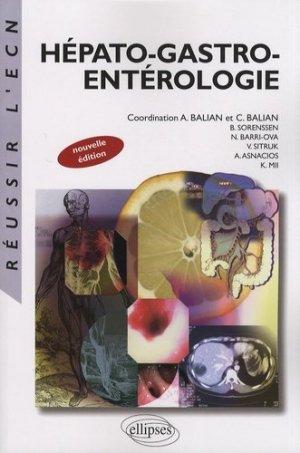 Hépato-gastro-entérologie - ellipses - 9782729836818 -