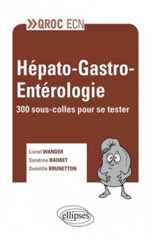Hépato-gastro-entérologie - ellipses - 9782729873080