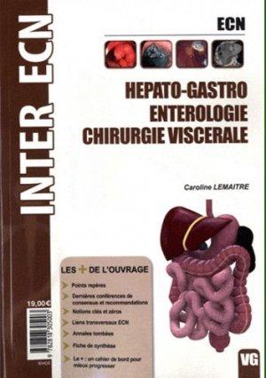 Hépato-Gastro - Entérologie - Chirurgie viscérale - vernazobres grego - 9782818305003 -