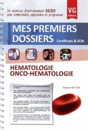 Hématologie Onco-Hématologie - vernazobres grego - 9782818308806 -