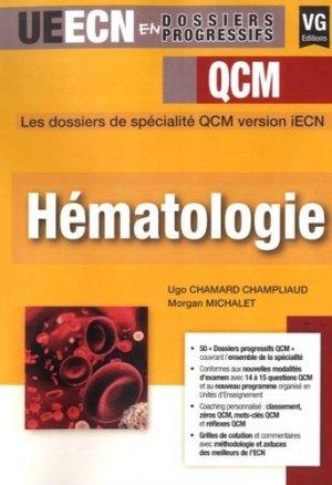 Hématologie - vernazobres grego - 9782818315996 -