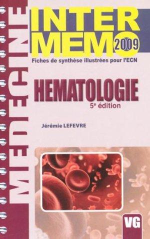 Hématologie - vernazobres grego - 9782841368181 -