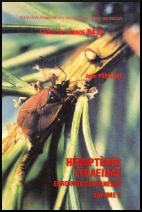 Hémiptères Lygaeidae euro-méditerranéens - federation francaise des societes de sciences naturelles - 9782903052195 -