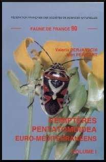 Hémiptères Pentatomoidea volume 1 - federation francaise des societes de sciences naturelles - 9782903052270 -