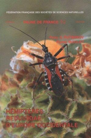 Hémiptères Reduviidae d'Europe Occidentale - federation francaise des societes de sciences naturelles - 9782903052300 -