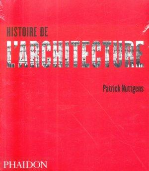 Histoire de l'architecture - phaidon - 9780714890647 -