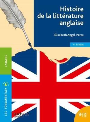 Histoire de la littérature anglaise - hachette - 9782017025566 -