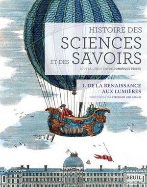 Histoire des sciences et des savoirs - du seuil - 9782021076769 -