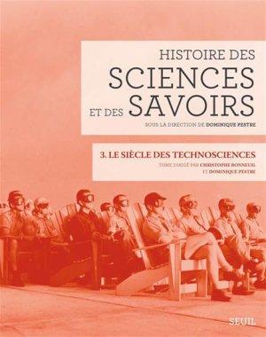 Histoire des sciences et des savoirs - du seuil - 9782021076783 -