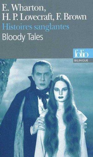 Histoires sanglantes - gallimard editions - 9782070441433 -