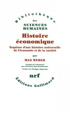 Histoire économique - gallimard editions - 9782070724888 -
