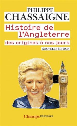 Histoire de l'Angleterre - flammarion - 9782081366589 -