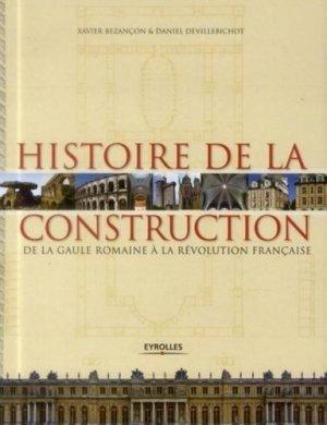 Histoire de la construction en France - eyrolles - 9782212136180 -