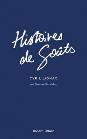 Histoires de goûts - Robert Laffont - 9782221246955 -