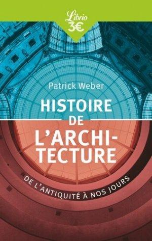 Histoire de l'architecture - j'ai lu - 9782290158098 -