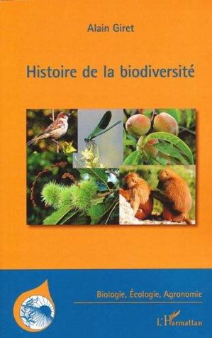 Histoire de la biodiversité - l'harmattan - 9782296553682 -