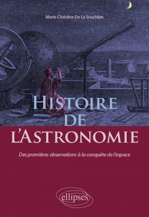 Histoire de l'Astronomie - ellipses - 9782340034679 -