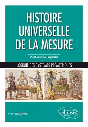 Histoire universelle de la mesure - ellipses - 9782340035898 -