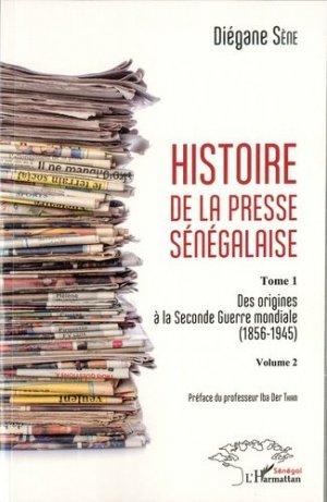 Histoire de la presse sénégalaise - l'harmattan - 9782343118178 -