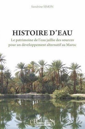 Histoire d'eau - l'harmattan - 9782343192673 -